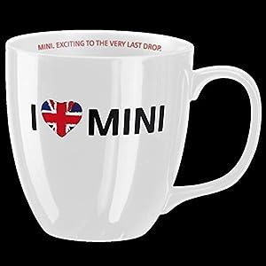 Amazon.com: Mini Cooper I LOVE MINI Mug / White: Kitchen & Dining