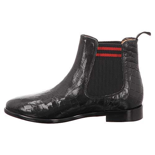 Daisy Hamilton Melvin Farbe Chelsea Schwarz Boots amp; Größe 41 schwarz T7TFxn