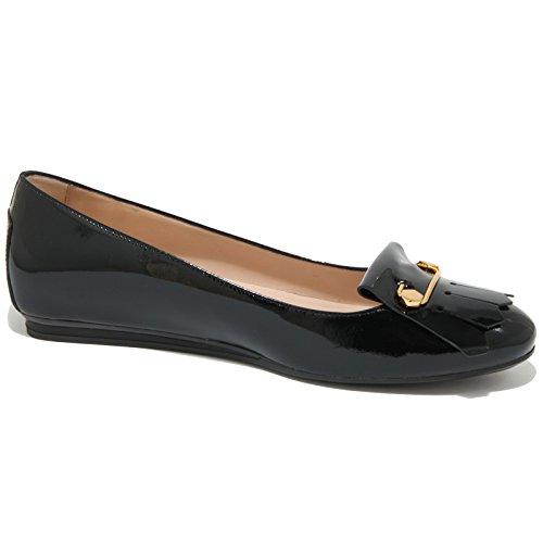 0423O ballerina TODS GOMMA FRANGIA nero scarpe donna shoes women Nero