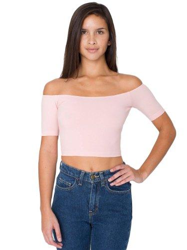 american-apparel-womens-cotton-spandex-off-shoulder-crop-top