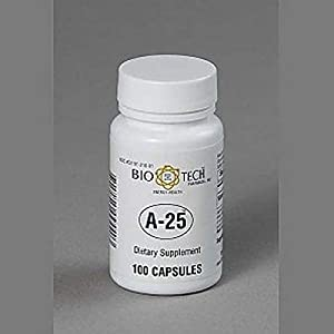 Bio-Tech Pharmacal A-25 Vitamin A 25,000 IU — 100 capsules