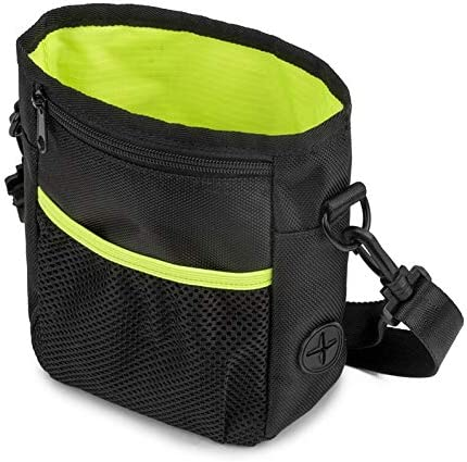 Appearancees Dog Treat Training Bag Pet Dogs Snack Food Bag Pouch with Adjustable Strap