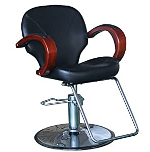 hydraulic hair styling chairs eastmagic professional black hydraulic styling 7463