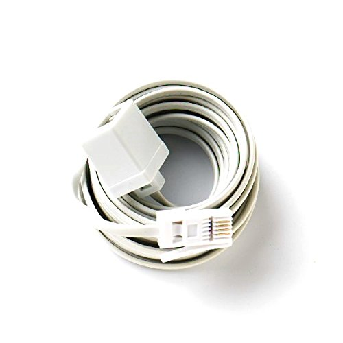 Extenstion Kit (Bulk Hardware BH03021 Telephone Extension Cable, 20M (65ft))