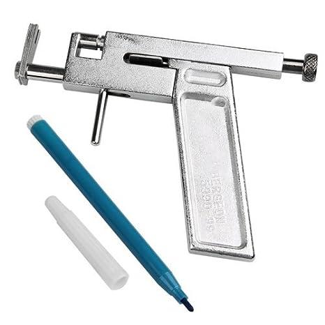 Pistola para Piercing de Hierro Cuerpo Orejas Vientre: Amazon.es: Salud y cuidado personal