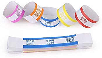 150 Assorted Assorted Currency Straps//Bands