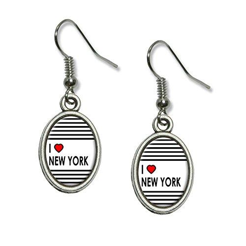 Heart Novelty Dangling Charm Earrings