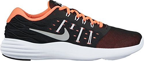 Nike Womens Lunarstelos Scarpa Da Corsa Nero Argento Argento Noir Argent
