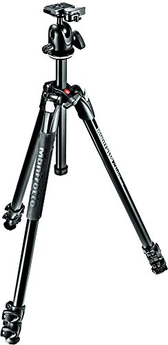 - Manfrotto 290 Xtra Aluminum 3-Section Tripod Kit with Ball Head (MK290XTA3-BHUS)
