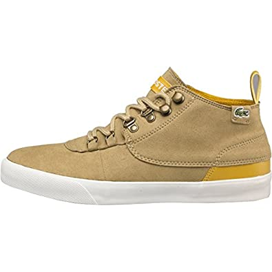 35ba321d0 Lacoste Womens Bruton Mid-Cut Boots Light Brown Dark Yellow  Amazon.co.uk   Shoes   Bags