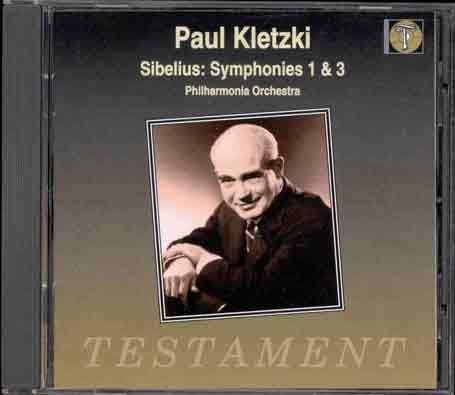 Sibelius: Symphonies Nos. 1 & 3 - Sibelius Nos Symphonies