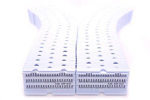 Cherishlook Professional 100packs Eyelashes - Flare Short Black by Cherishlook