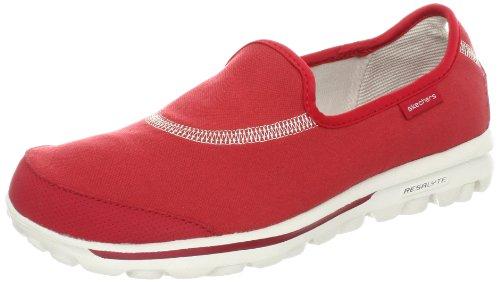 Skechers Go Walk 2 - Zapatilla Alta Mujer Red