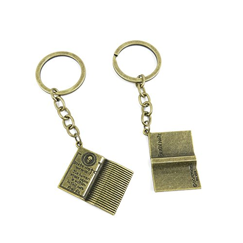 1 PCS Keyrings Keychains Key Ring Chains Tags Jewelry Findings Clasps Buckles Supplies N3OZ4 Death Note