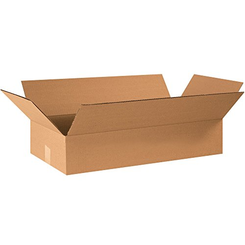 Top Pack Supply Flat Corrugated Boxes, 24