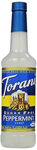 (Torani Sugar Free Syrup, Peppermint, 25.4 Ounce (Pack of 4))