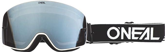 O Neal Motocross Brillen Ersatzteile Motorrad Enduro 3x Schaumstoffschicht Verstellbares Band Mit 100 Uva B C Schutz B 50 Goggle Force Silber Mirror Schwarz Weiß One Size Bekleidung