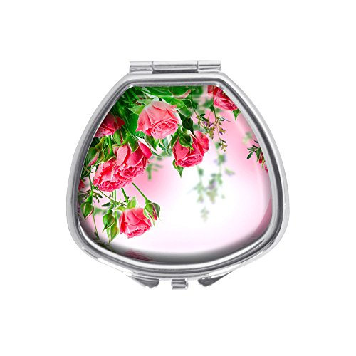 - Luxcase Bouquet of delicate roses Custom Sector Silver Pill Box Pocket Medicine Tablet Holder Pill Decorative Case Wallet