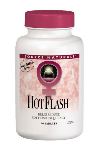 Source Naturals Hot Flash, Helps Reduce the Frequency of Hot Flashes Associated with Menopause, 180 Tablets