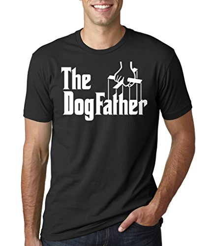 Dogfather T-Shirt Pet Lover Dog Owner Tee Shirt XXXX-Large Black