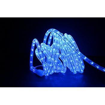 Amazon direct lighting grl 24 bl blue 24ft led rope light direct lighting grl 24 bl blue 24ft led rope light aloadofball Images