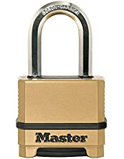 Master Lock M175XDLF 2in. Magnum Zinc Body Padlock with 1-1/2in. Shackle