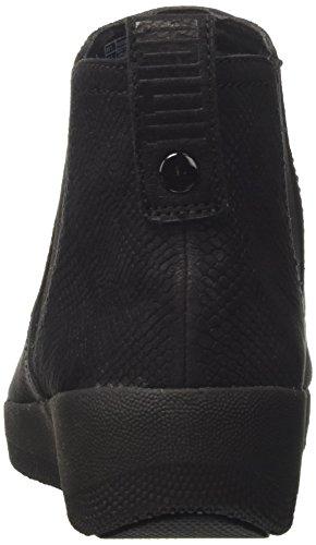 FitFlop Superchelsea, Chelsea Boots Femme, Vierge Noir (Black Snake-embossed 394)