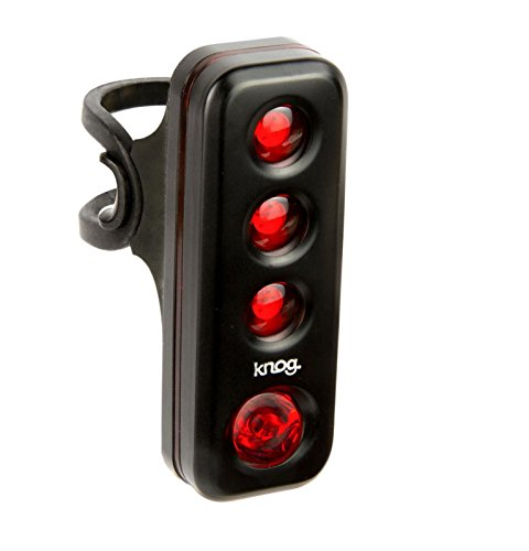 Knog Blinder Road R70 Taillight- Black, USB Rechargeable, LED, Water Resistant, Commuter Friendly, Easy Mounting, Battery Saving, Performance Cycling Bike Light