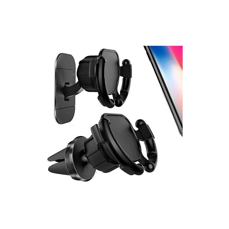 GONJOY [2 Pack] Car Phone Mount Holder,