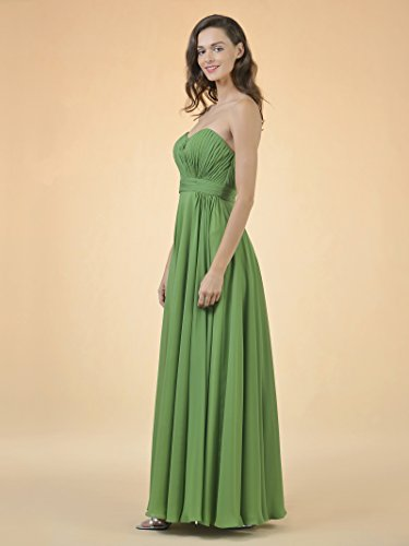 Gown Maxi Alicepub Long Pink Coral Party Chiffon Bridesmaid Evening for Wedding Dress Prom 7vw7zxtrq