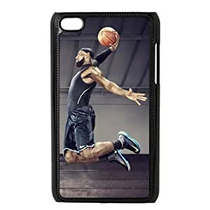 Custom Lebron James Hard Back Cover Case for iPod Touch 4th IPT740