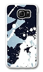 Bird Attack3 PC Case Cover for Samsung S6 and Samsung Galaxy S6 White