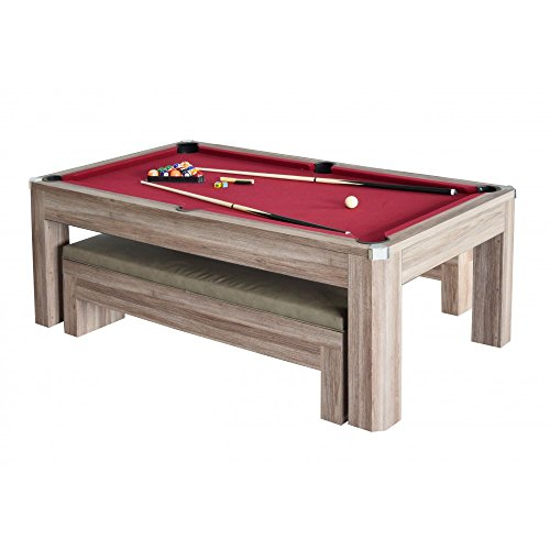 Carmelli NGP Newport MultiFunctional Pool Table Set With - Carmelli pool table
