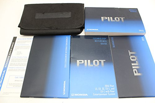 2015 Honda Pilot Owner's Manual Original