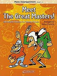Meet the Great Masters! Piano Accomp. (No CD) ()
