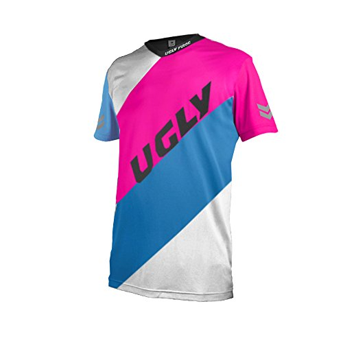 Uglyfrog MT14 Designs Bike Wear Men's Downhill Jersey Rage MTB Men's Short/Long Cycling Jersey Cycle Riding Jerseys Biking Shirt with Quick Dry Breathable Fabric ()