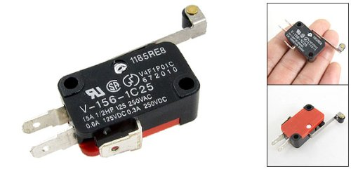 Uxcell a11021800ux0130 Micro Limit Switch Long Hinge Roller Momentary SPDT Snap Action LOT