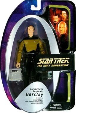 Star Trek The Next Generation Lt. Reginald Barclay Action - Good Reginald
