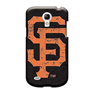 LeoSwiech Samsung Galaxy S4 Mini Shockproof Cell-phone Hard Cover Provide Private Custom Beautiful San Francisco Giants Image [oED24689tNLv]