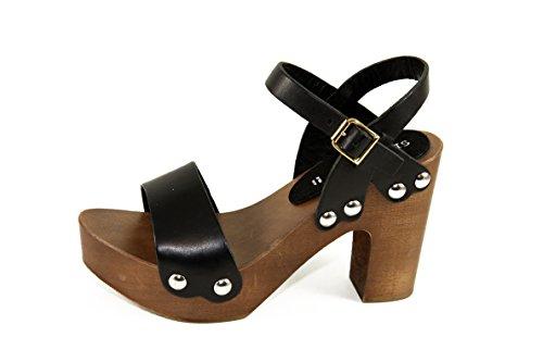 Vero Art Mary Zoccoli Silfer Pelle E Vera Legno in Shoes ttHwq8z