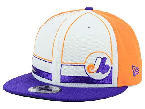 New Era Monteal Expos 9Fifty Adjustable Snapback Topps Baseball Cap Hat (Expos Hat)
