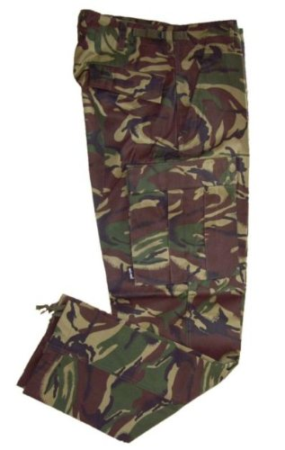British DPM Camouflage BDU Trousers (Large (Bdu Pants Trousers)