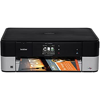 Brother Printer MFCJ4320DW Wireless Color Photo With Scanner Copier And Fax Amazon Dash
