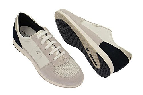 GeoxGeox Respira Avery Schnürschuhe Damen in weiß grau - 2015 - zapatilla baja Mujer Blanco - blanco