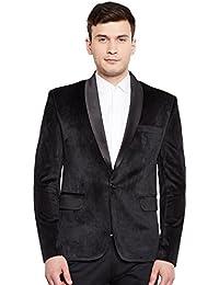 Men's Premium Velvet Notch Lapel Tuxedo Coat Blazer Jacket