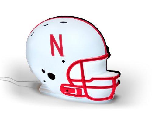NCAA Nebraska Cornhuskers LED-Lit Football Helmet