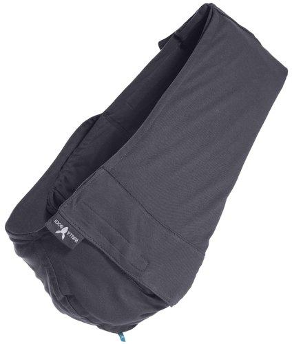 Wallaboo Connection – Bandolera portabebé de algodón, 3 en 1 honda del bebé, para bebés de 3.5 kg a 15 kg, transpirable y usable los cuatro estaciones