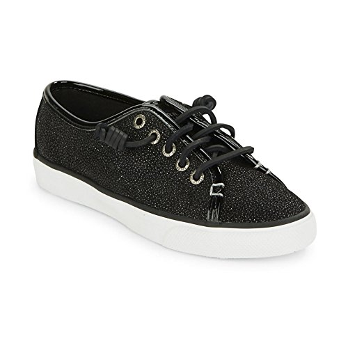 Sperry-Top-Sider-Womens-Seacoast-Sparkle-Black-Fashion-Sneaker