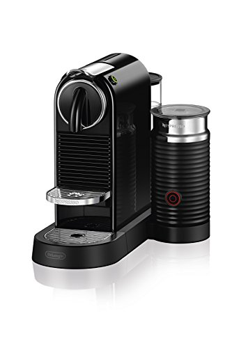 Nespresso CitiZ & Milk Espresso Machine by De'Longhi, Black by DeLonghi