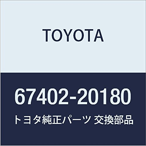 Toyota 67402-20180 Door Window Guide Sub Assembly